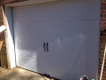 Custom Handled Garage Door