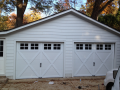 Two-Single Garage Doors