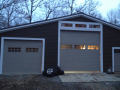 White Garage Door Installation